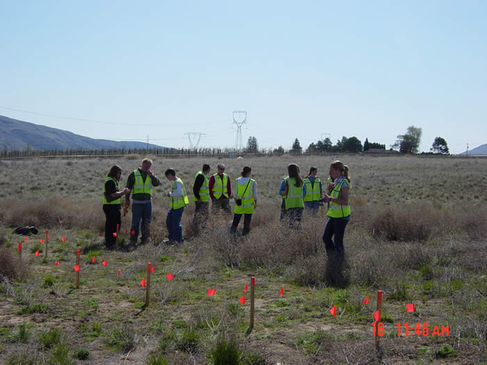 Students Learning About Noxious Weeds